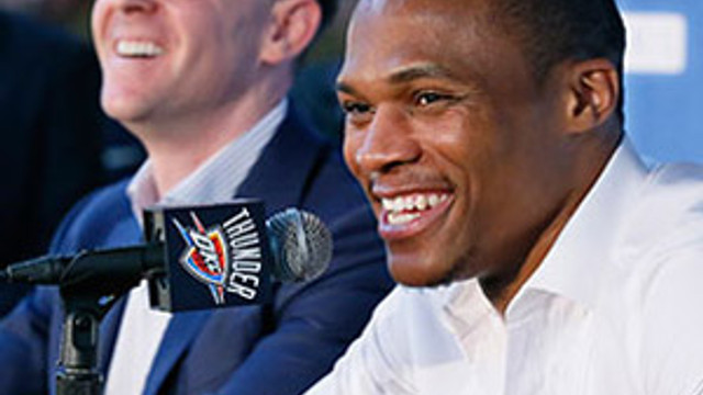 Westbrook imzaladı