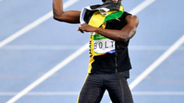 Dinmeyen fırtına Usain Bolt !