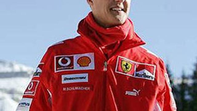 ''Schumacher yürüyemiyor''