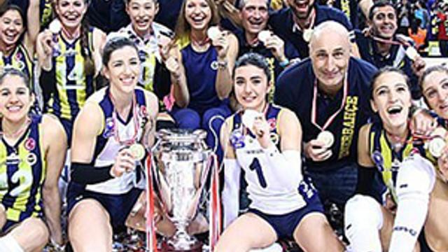 Kupa Voley'de şampiyon Fenerbahçe !