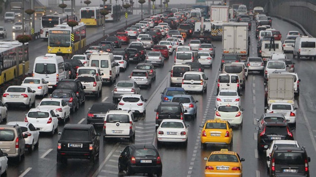 İşte trafik sıkışıklığının asıl nedeni !