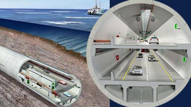 Üç Katlı Büyük İstanbul Tüneli güzergahı