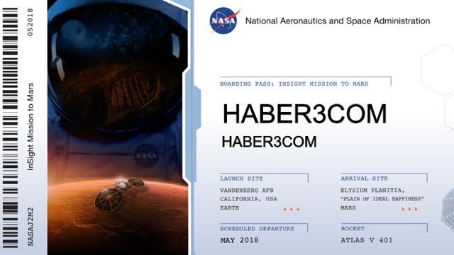 NASA'dan ilginç kampanya: Adını Mars'a göndermek isteyen var mı ?