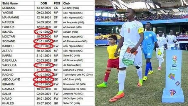 Nijerya u17 takımında skandal !