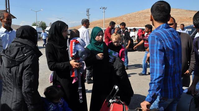 Suriye'ye giden 90 bin Suriyeli geri döndü