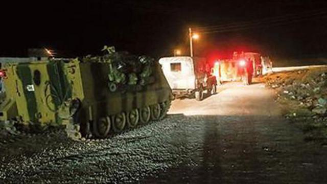 TSK askeri araçlarla İdlib'e girdi !