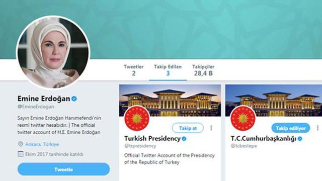 Emine Erdoğan ilk paylaşımını yaptı