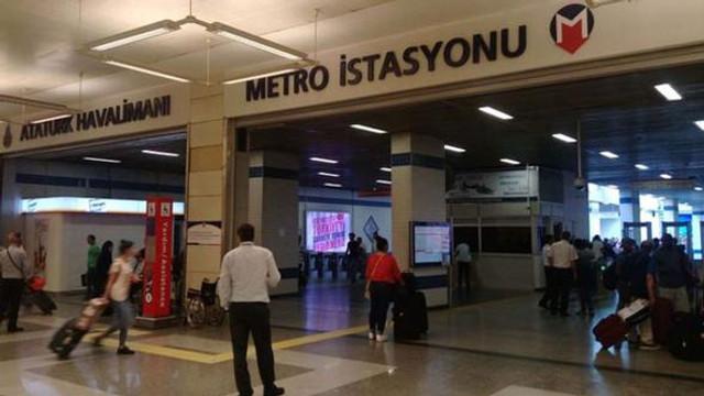 Atatürk Havalimanı metrosunda dehşet  !