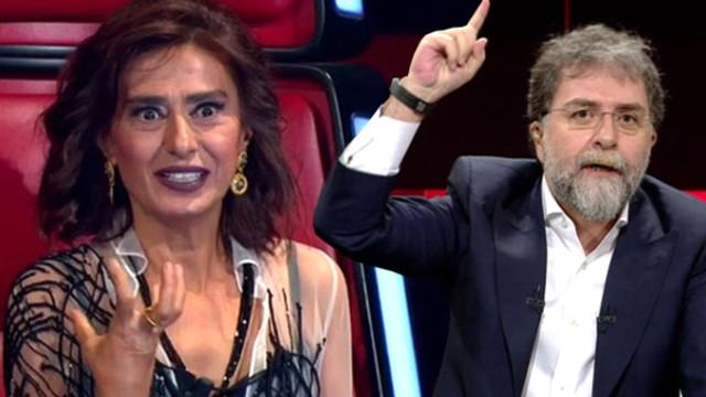 Yıldız Tilbe'den Ahmet Hakan'a ağır sözler: Erkek değilsin...