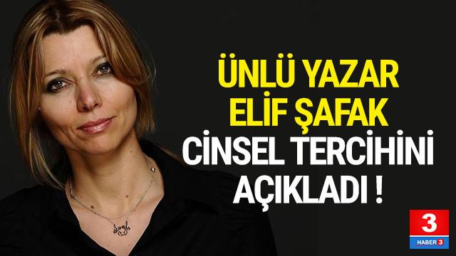 Elif Şafak itiraf etti: ''Biseksüelim''