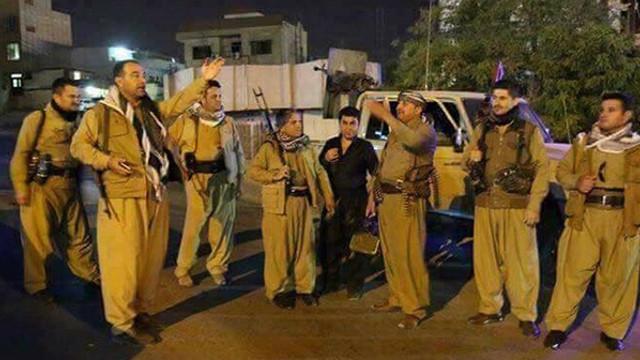 Yüzlerce PKK'lı Kerkük'te sokağa indi !