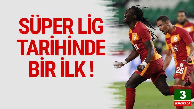 Süper Lig tarihinde bir ilk !