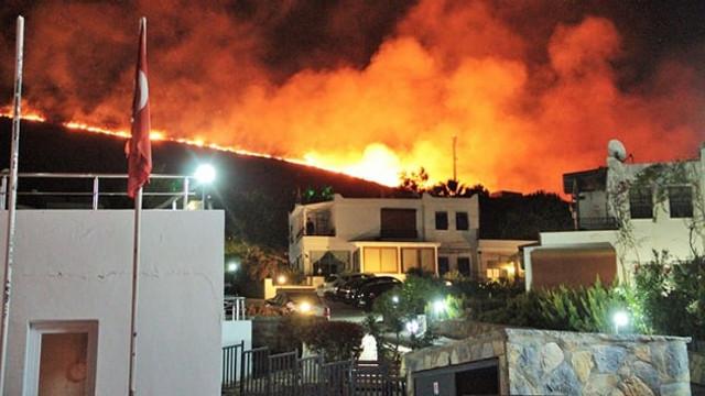 Bodrum'daki yangının bilançosu ağır oldu