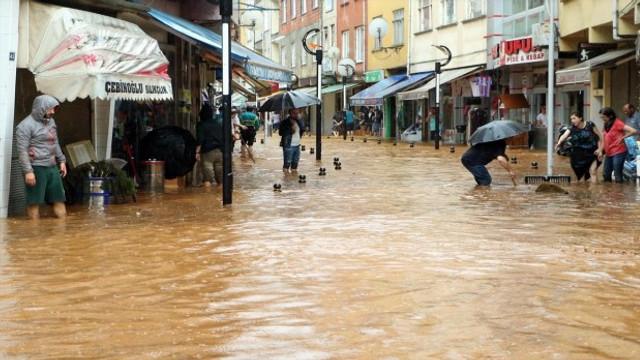 Rize'den kötü haber ! Sel sularına kapıldı