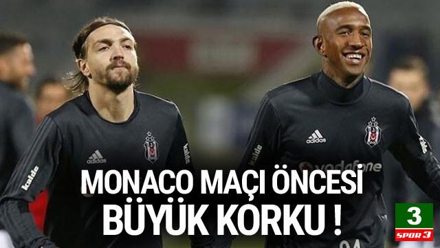 Monaco maçında Caner Erkin endişesi !