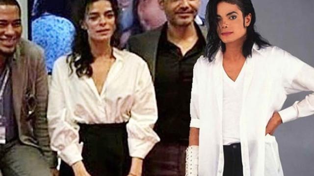 Ünlü oyuncu Michael Jackson'a benzetildi