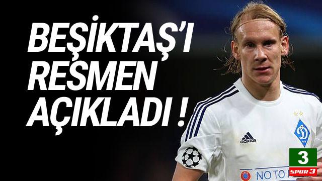 Domagoj Vida, Beşiktaş'ı resmen açıkladı