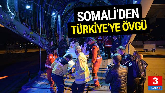 Somali'den Türkiye'ye övgü !