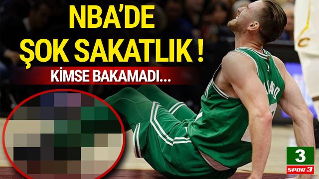 NBA'de şok sakatlık !
