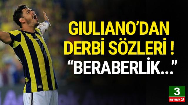 Giuliano'dan Galatasaray maçı açıklaması
