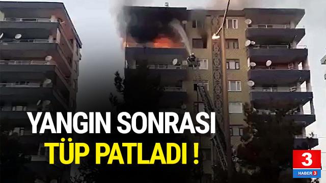 Diyarbakır'da bir binanın 7. katında patlama !