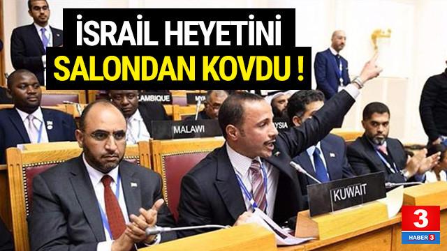 Kuveyt Meclis Başkanı İsrail heyetini kovdu !