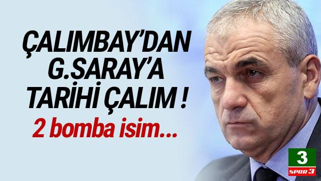 Çalımbay'dan Galatasaray'a tarihi çalım