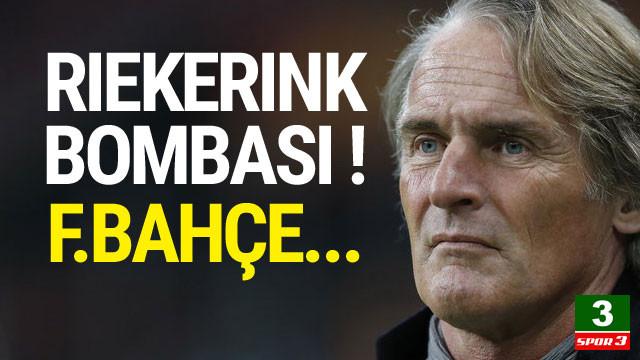 Riekerink bombası ! Fenerbahçe'ye...