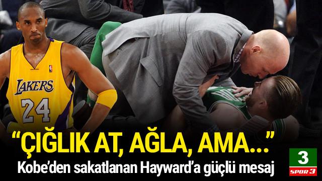Kobe'den Hayward'a güçlü mesaj