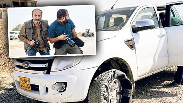Türk gazeteciler ölümden döndü