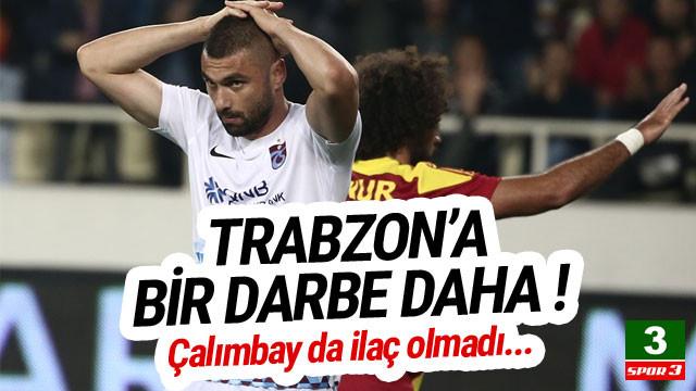 Trabzonspor, Malatyaspor'a da yenildi !