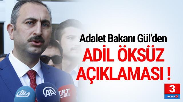 Adalet Bakanı'ndan çarpıcı sözler !