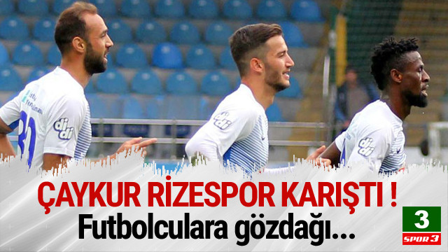 Çaykur Rizespor'da futbolculara gözdağı