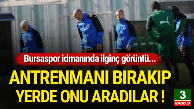 Bursaspor idmanında 'diş' araması