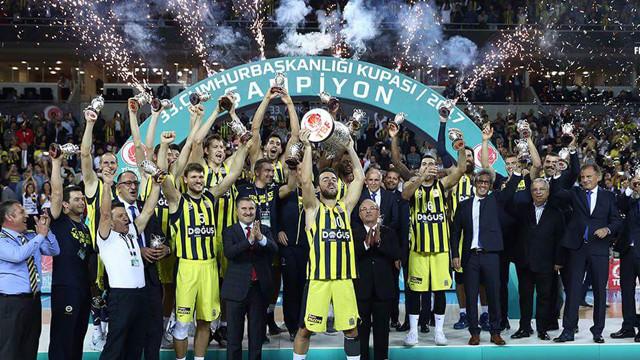Cumhurbaşkanlığı Kupası Fenerbahçe'nin !