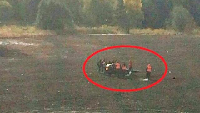 Ralli Şampiyonası'nda helikopter düştü