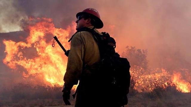 Yangın nedeniyle acil durum ilan edildi