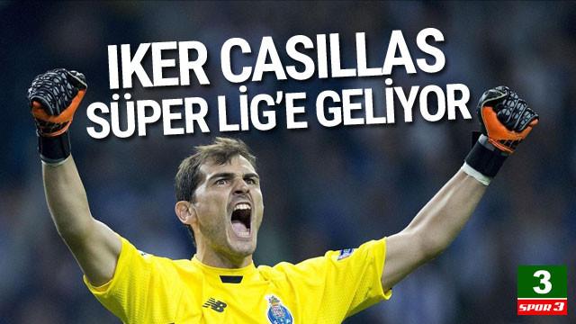 Iker Casillas Süper Lig'e geliyor !