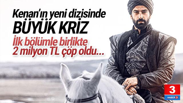 Kenan İmirzalıoğlu'nun yeni dizisinde büyük kriz ! İlk bölüm çöp oldu
