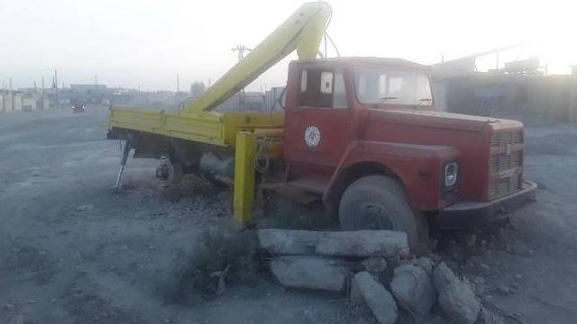 DEAŞ'ın elinde belediyenin eski aracı çıktı