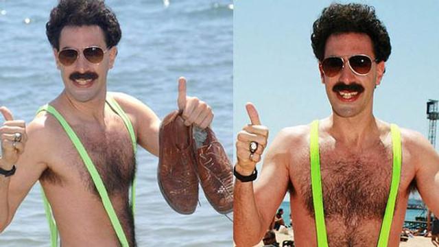 Borat mayosu olay yarattı: 6 gözaltı