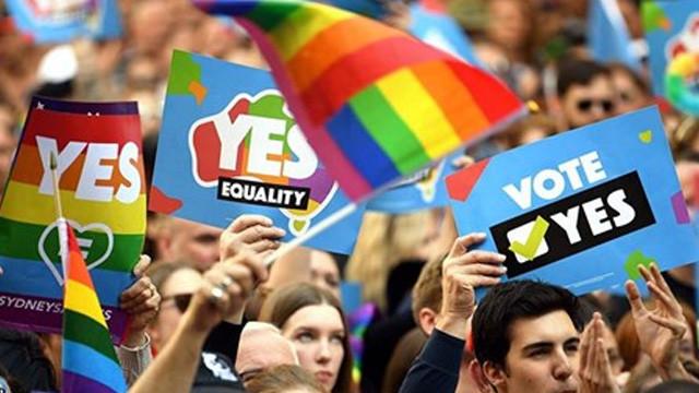 Eşcinsel evliliğe yüzde 61 evet !