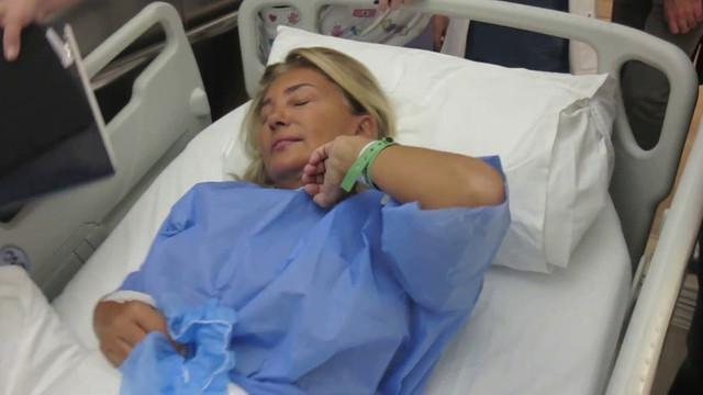 Bahar Öztan tekrar hastaneye kaldırıldı