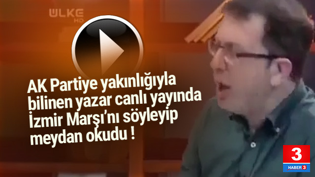 Turgay Güler canlı yayında ''İzmir Marşı''nı söyledi