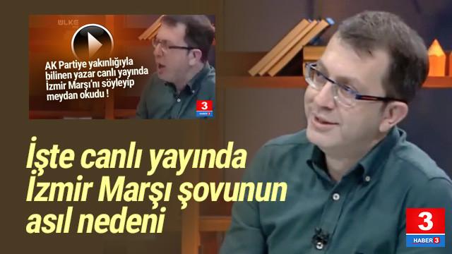 Canlı yayında İzmir Marşı'nı bu yüzden okumuş