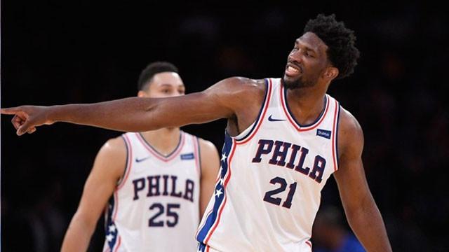 NBA'de gecenin adamı Joel Embiid