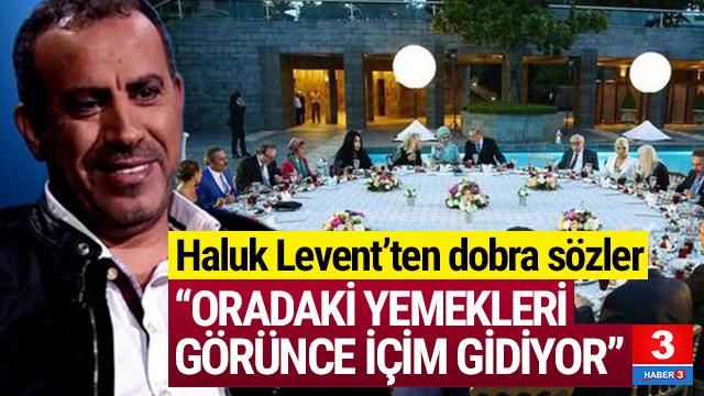 Haluk Levent: Cumhurbaşkanlığı'ndaki davete çağırsalar...