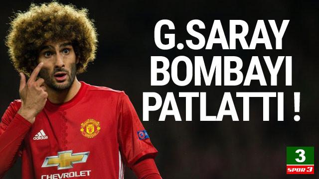 Galatasaray'dan Fellaini bombası