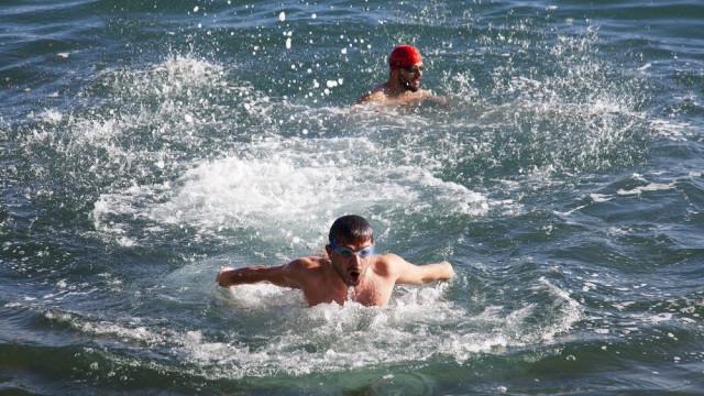 Ne Akdeniz ne de Ege... Bu fotoğraf bugün çekildi !