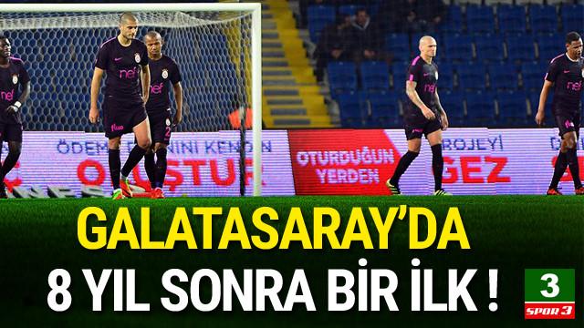 Galatasaray 8 yıl sonra 5 gol yedi